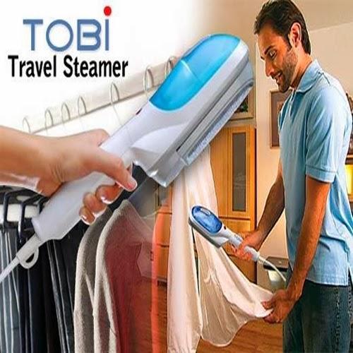 Setrika Uap Portable Tobi Travel Steamer Praktis Mudah Digunakan