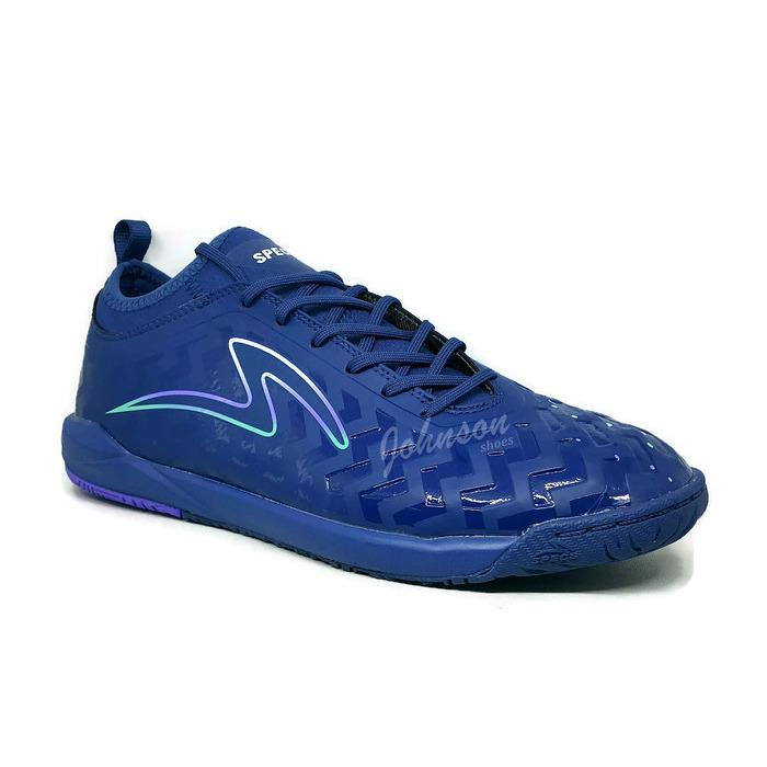 [ Johnson Shoes ] Sepatu Futsal SPECS - CYANIDE GALAXY IN Navy Modular
