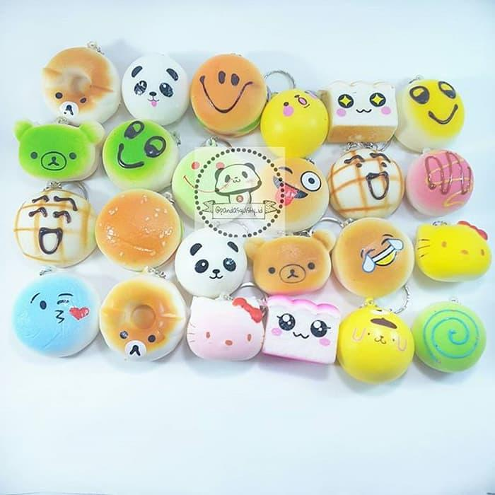 BEST SELLER!!! Paket Squishy Jualan Isi 24 Pcs/ Squishy Murah/ Slime Act/Grosir - yrqj4W