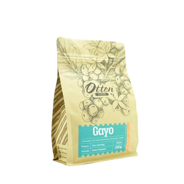 Otten Coffee Arabica Aceh Gayo Atu Lintang 200g - Bubuk Kopi (Best Seller)