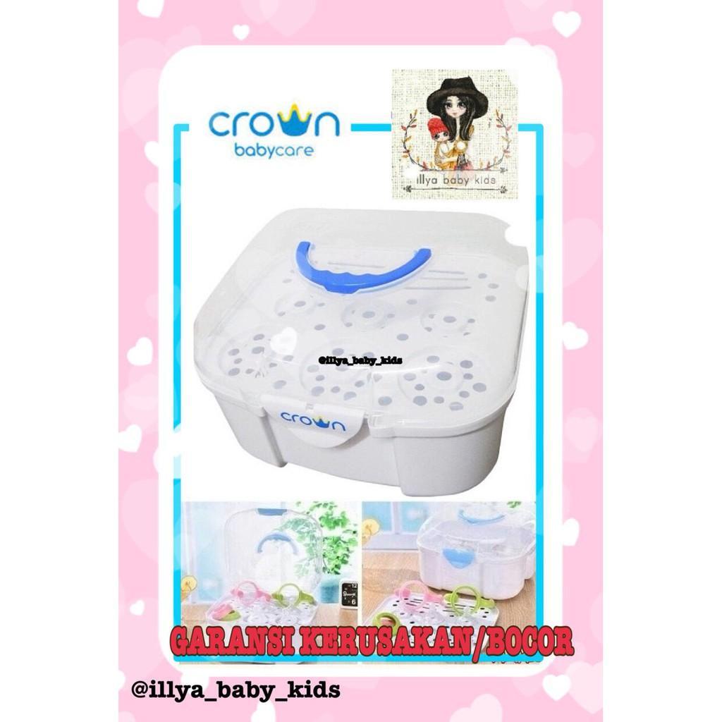 illya baby kids Crown Easy Steril Travel Bottle Rack / Rak Botol Travel / Rak Pengering