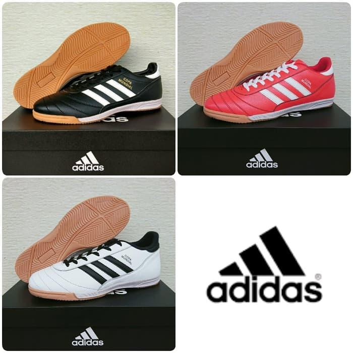 TERLARIS!!!Sepatu Futsal Adidas Copa Mundial - Hitam, 39