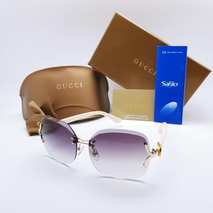 Kacamata / Sunglass Wanita Gucci As-18607 Fullset + Cairan Pembersih
