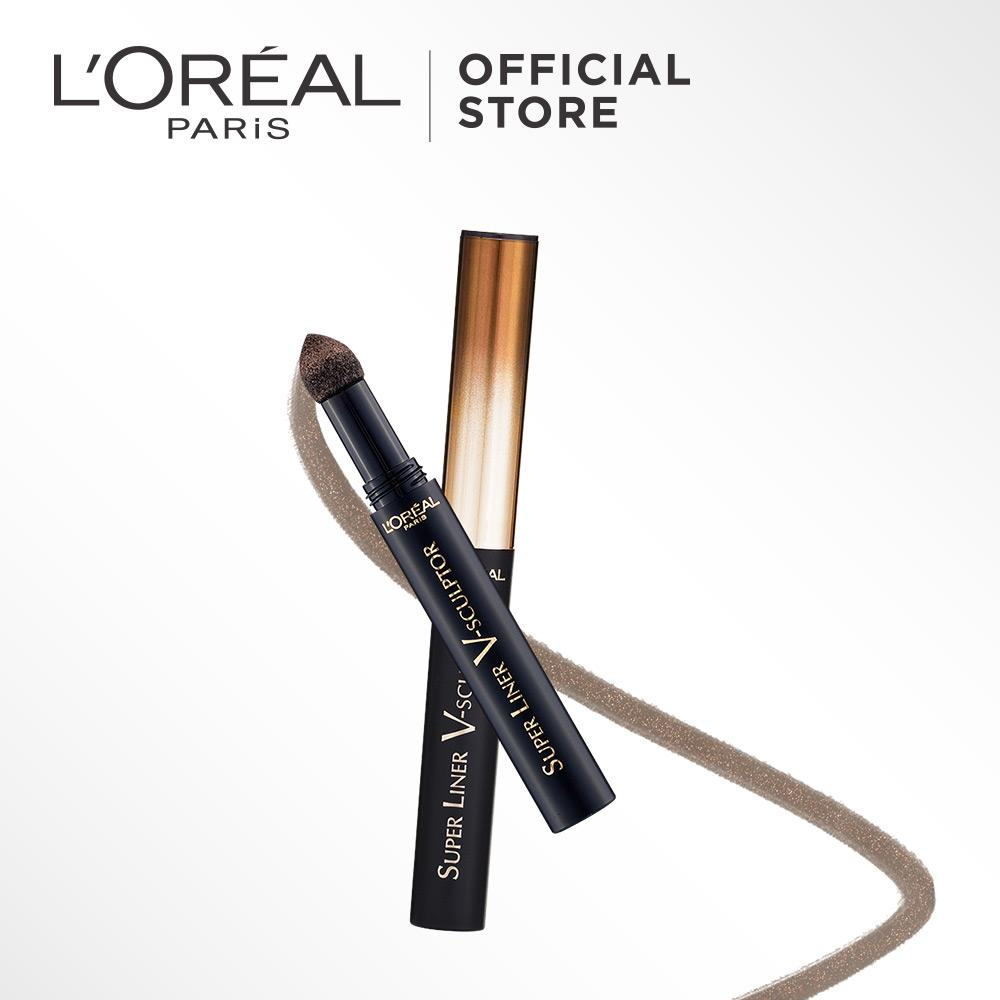 Buy Sell Cheapest Eyeshadow The Bronze Best Quality Product Deals Pixy Line Shadow Eyeliner Green Loreal Paris Super Liner V Sculptor V04 By L