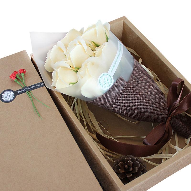 ... beruang lucu sabun bunga Hari Valentine ulang tahun pernikahan ulang tahun hadiah berwarna merah muda di Merah - InternasionalIDR81000. Rp 81.039