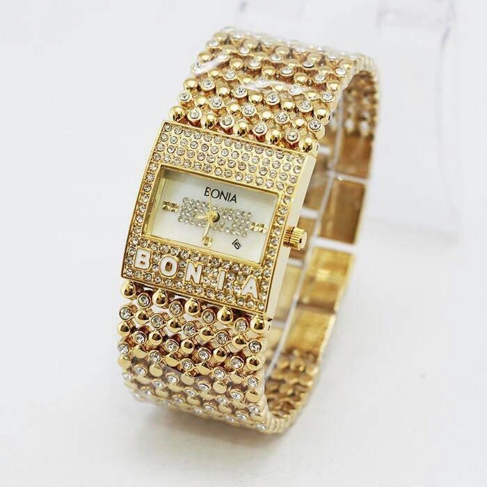 jam tangan cewek / wanita bonia ( guess rolex casio aigner hermes gc