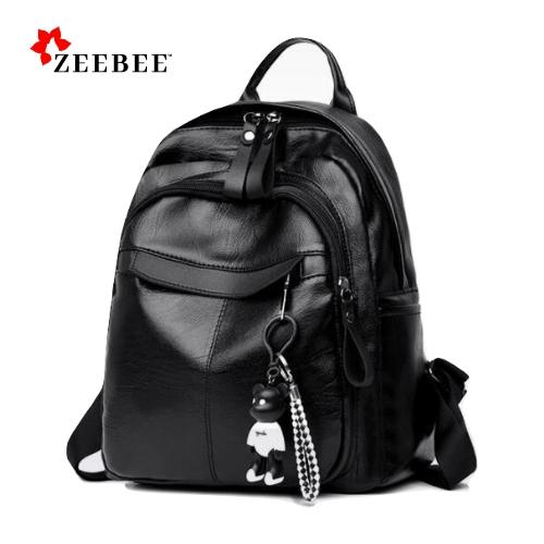 ZeeBee Tas Ransel Kulit Wanita Import Gillian   Women Backpack Korean Style    Tas Import   93dff1dbeb