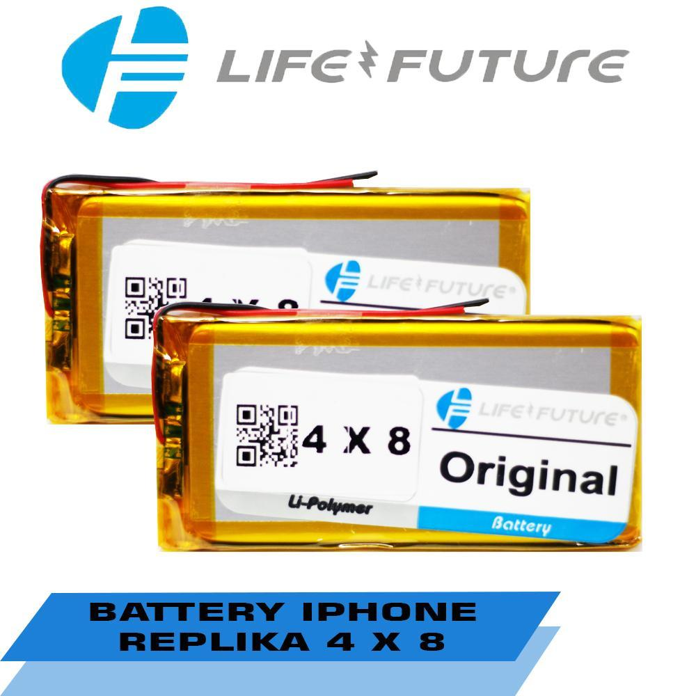 BATTERY IPHONE REPLIKA 4 X 8