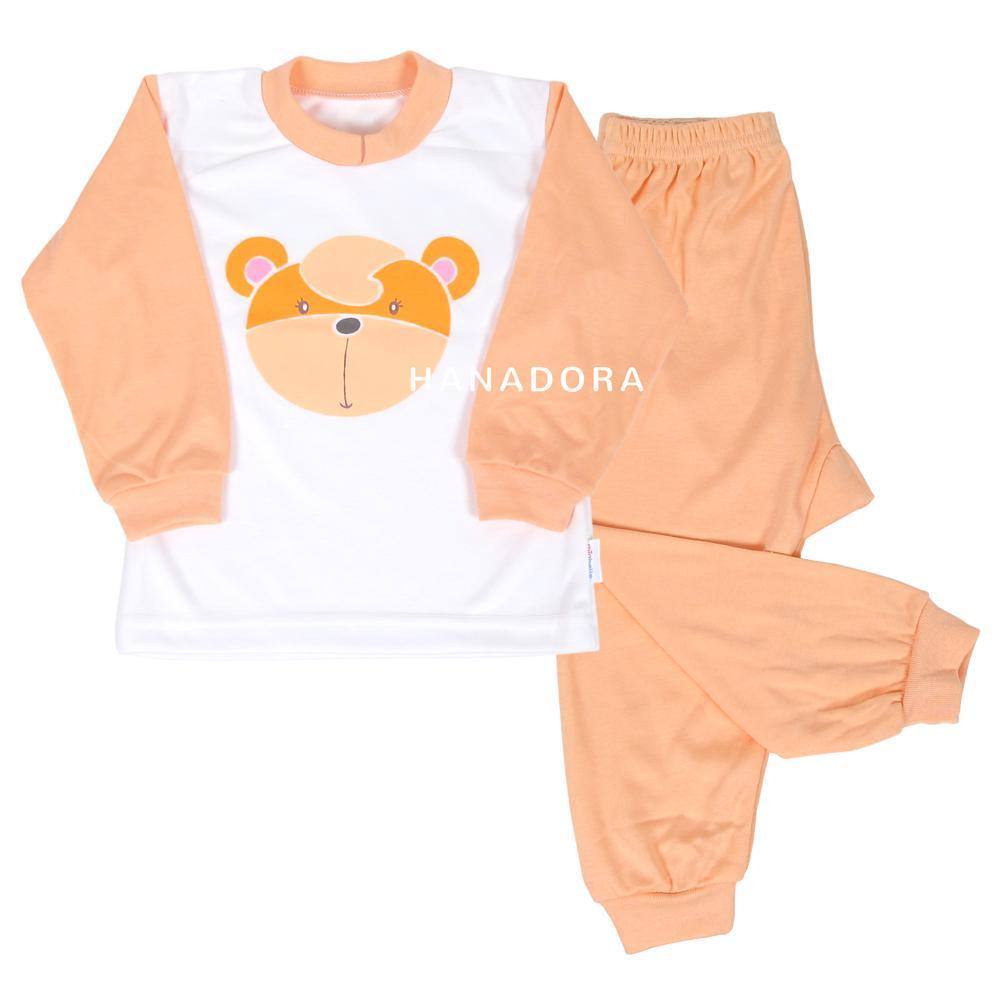Miabelle Set Baju Panjang + Celana Kn01 - Piyama Bayi By Hanadora.
