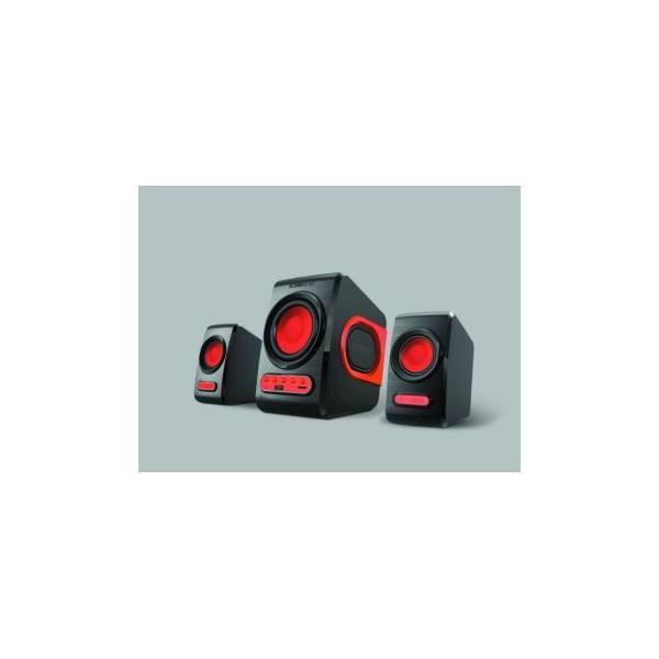 TERMURAH Speaker Aktif SONIC GEAR QUATRO V SPEAKER SUBWOOFER 2.1 (USB Flashdisk- MicroSD)