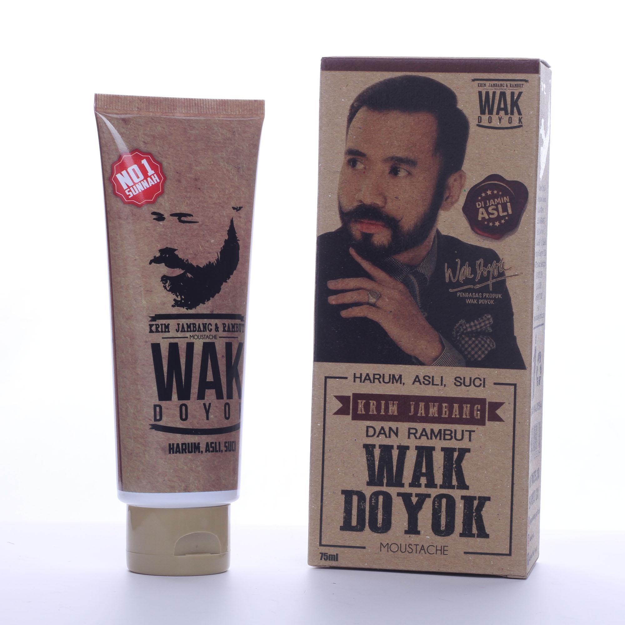 Krim Penumbuh Jambang Wak Doyok ORIGINAL 75 ml