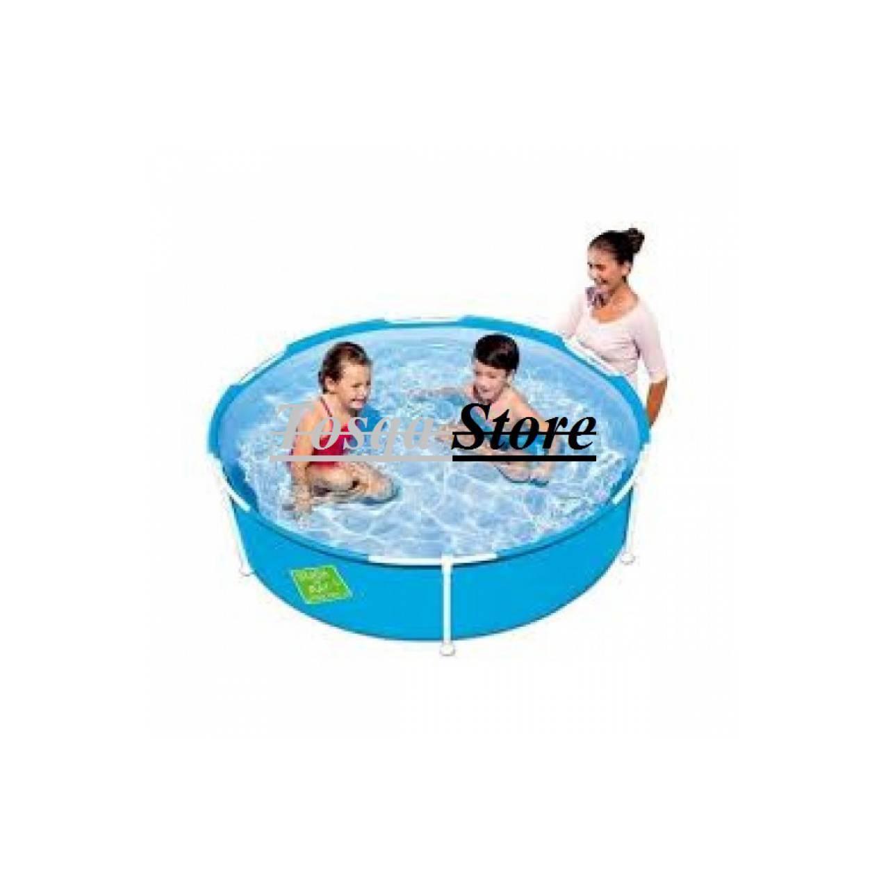Kolam Renang Bestway Frame Pool Bulat 152cm 56283 / Kolam Bestway
