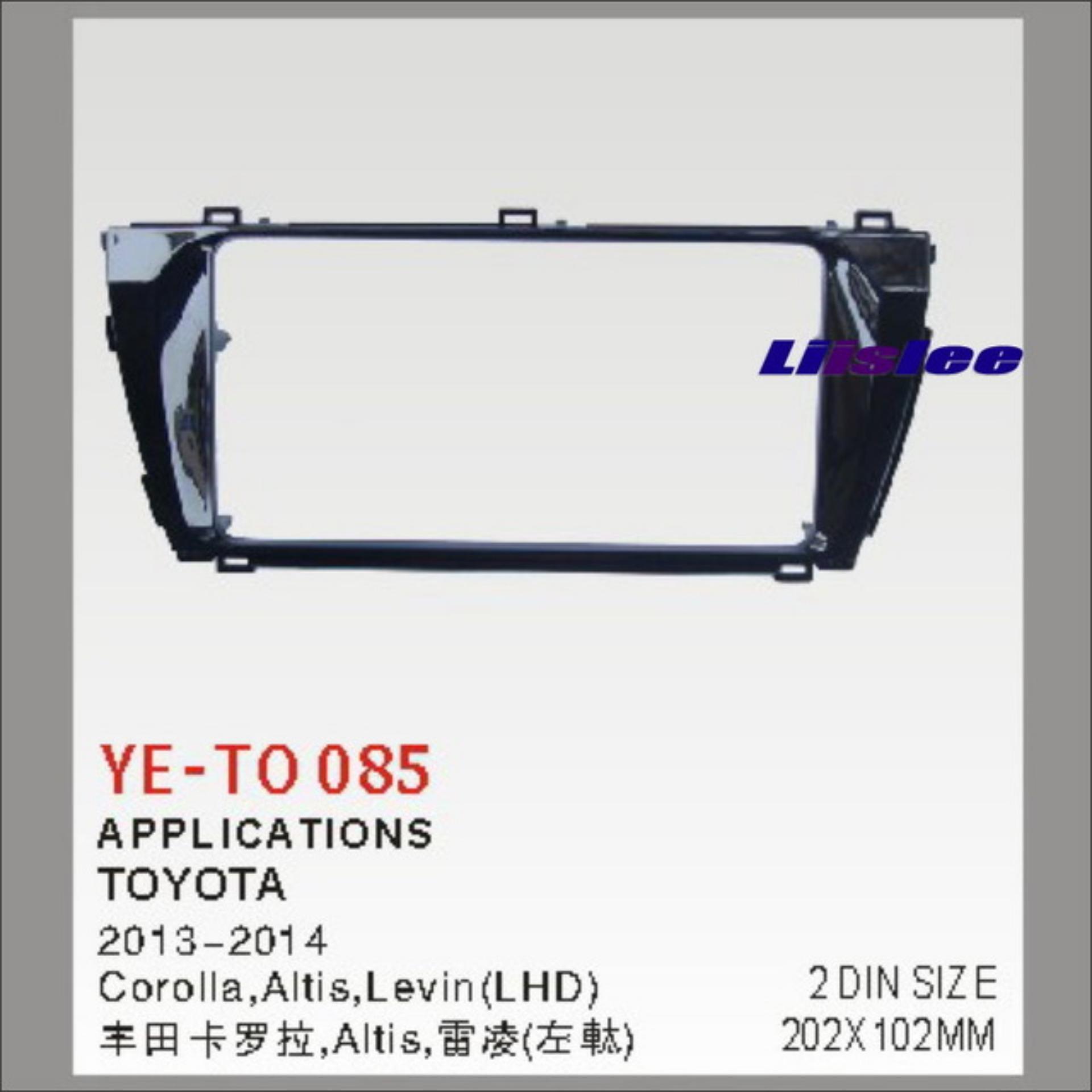 Nicholas Edison Frame Corolla Altis 2013-2015 - Hitam