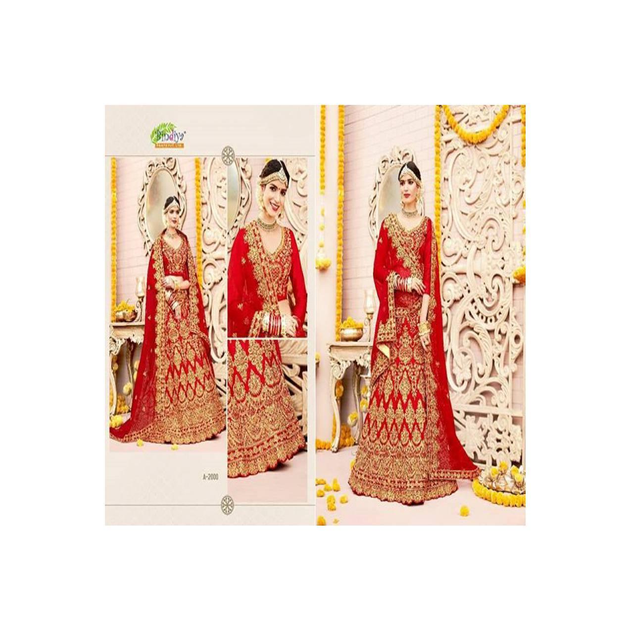 Bindiya Bridal Lehenga 2 / Gaun Pengantin Muslim / Gamis Pesta Muslim