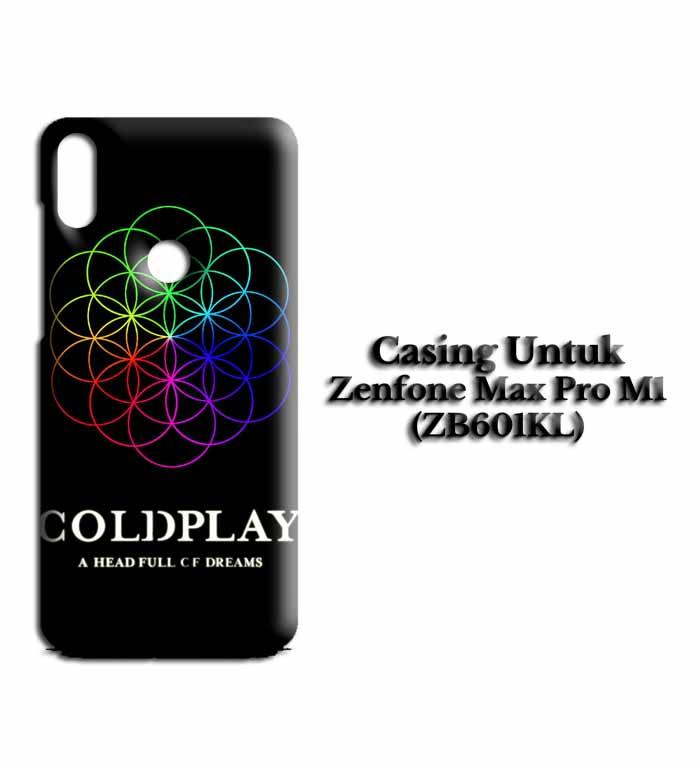 Casing ZENFONE MAX PRO M1 coldplay new Hardcase Custom Case Snitchshop
