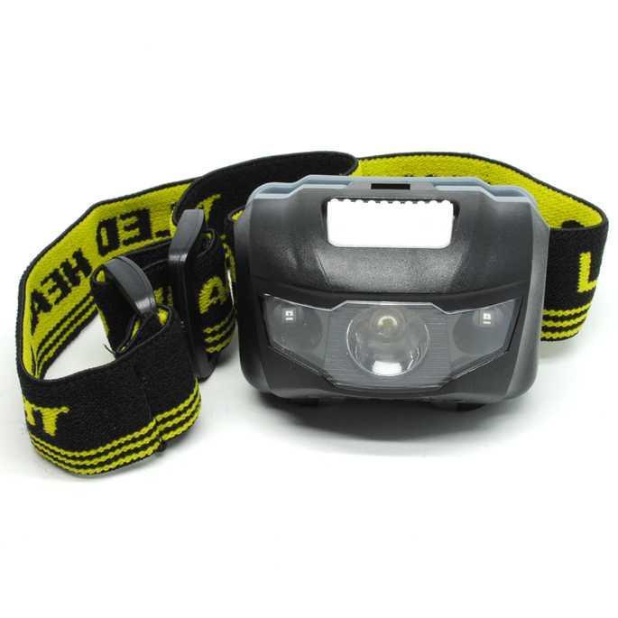 Headlamp LED Multifunction Outdoor 3W - GD63 / Aneka Headlamp Murah / Lampu Senter Kepala / Peralatan Mendaki Murah