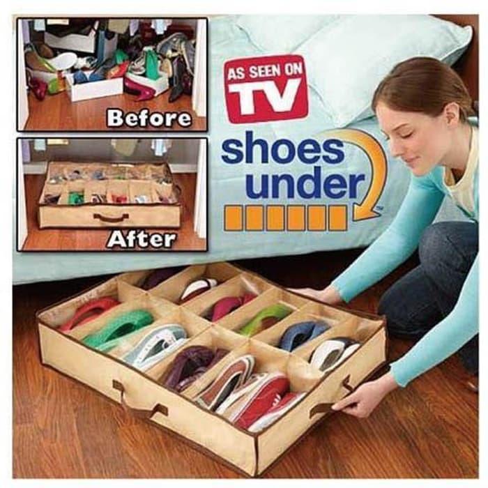 Shoes Under Organizer / Tempat Sepatu - Sandal