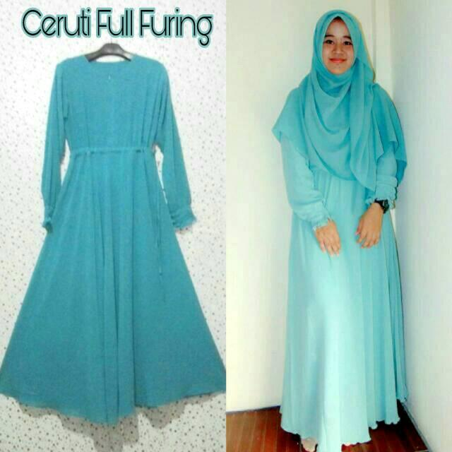 GAMIS CERUTI POLOS FULL FURING (XXL)