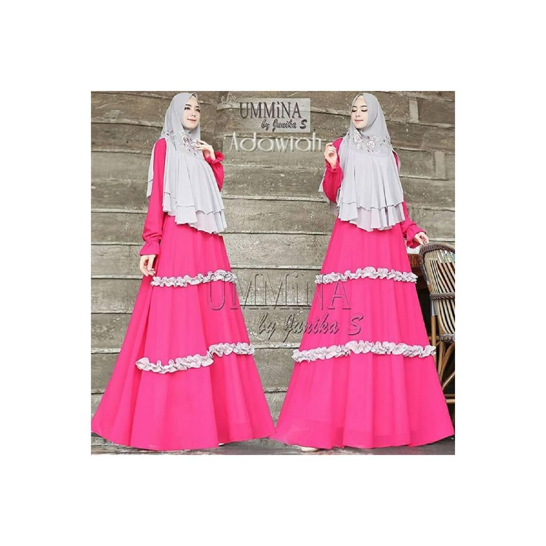 Gamis Set Branded Original Baju Terbaru Syari Wanita