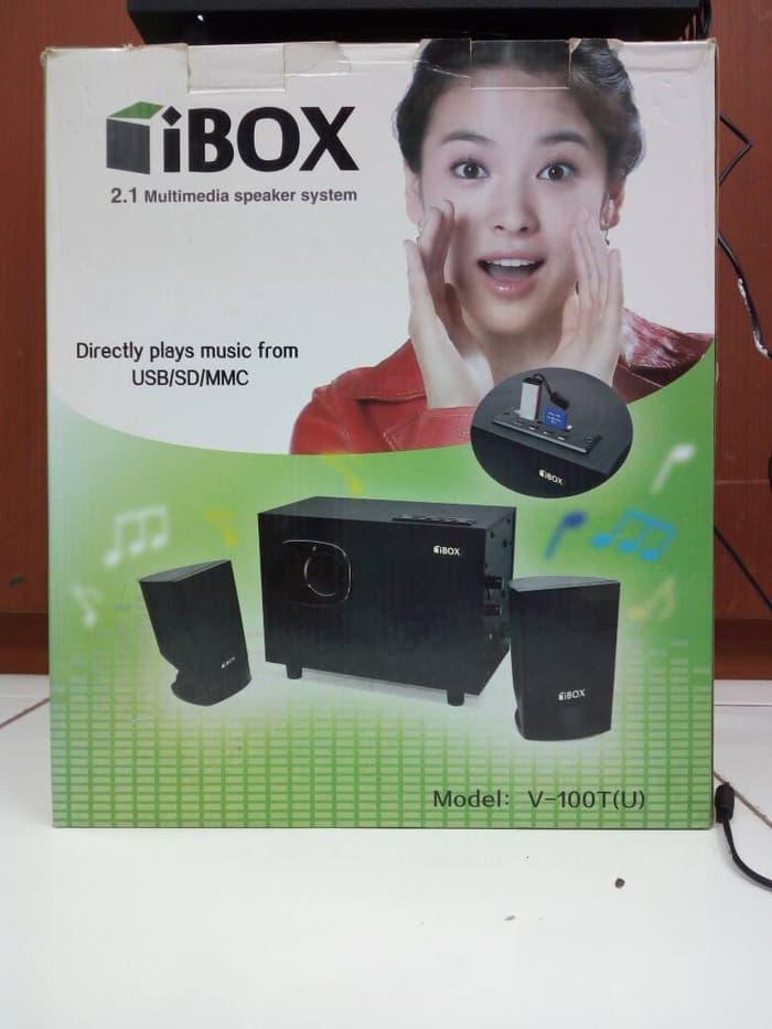 Sedang Diskon!! Speaker Aktif 2.1 Ibox V100Tu - ready stock