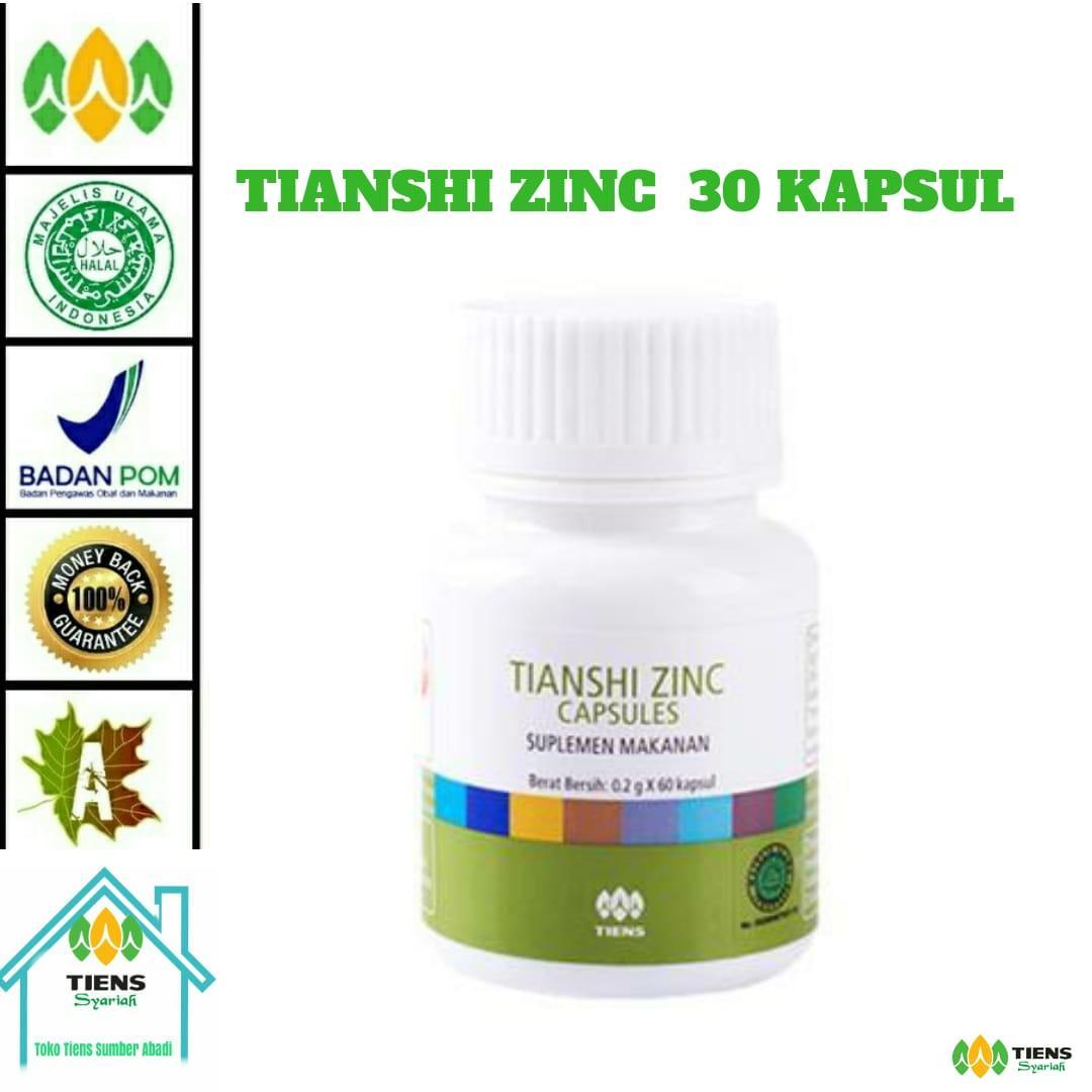 Tianshi zinc capsule herbal alami penggemuk badan