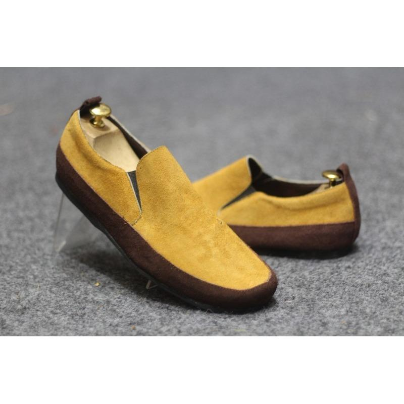 BEST SELLER !!!!!!! Sepatu Casual Slip On Mocasin Clarks Suede VB3