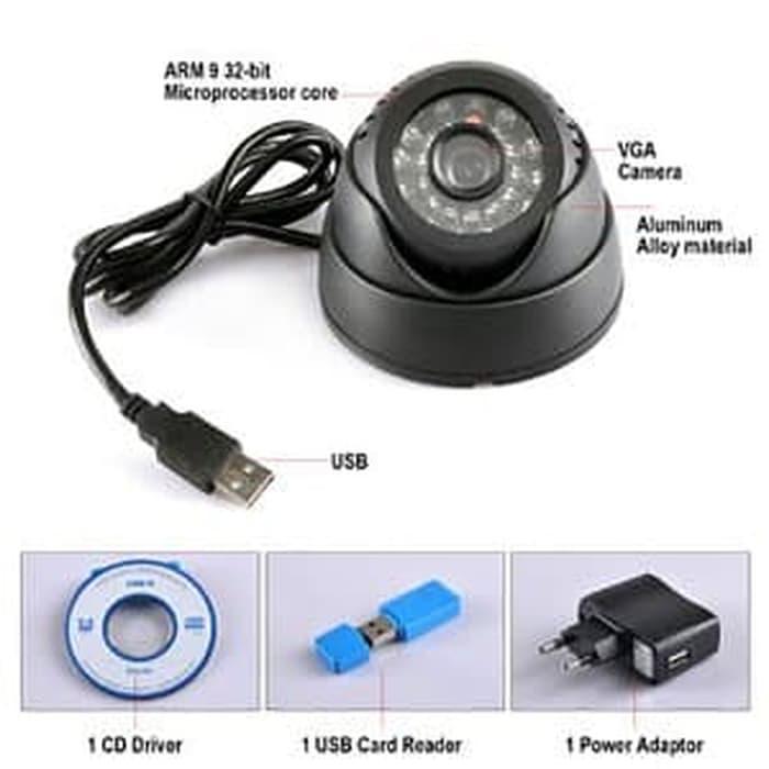 Cognos Kamera CCTV Dome Stand Alone CMOS 600TVL Micro S Berkualitas