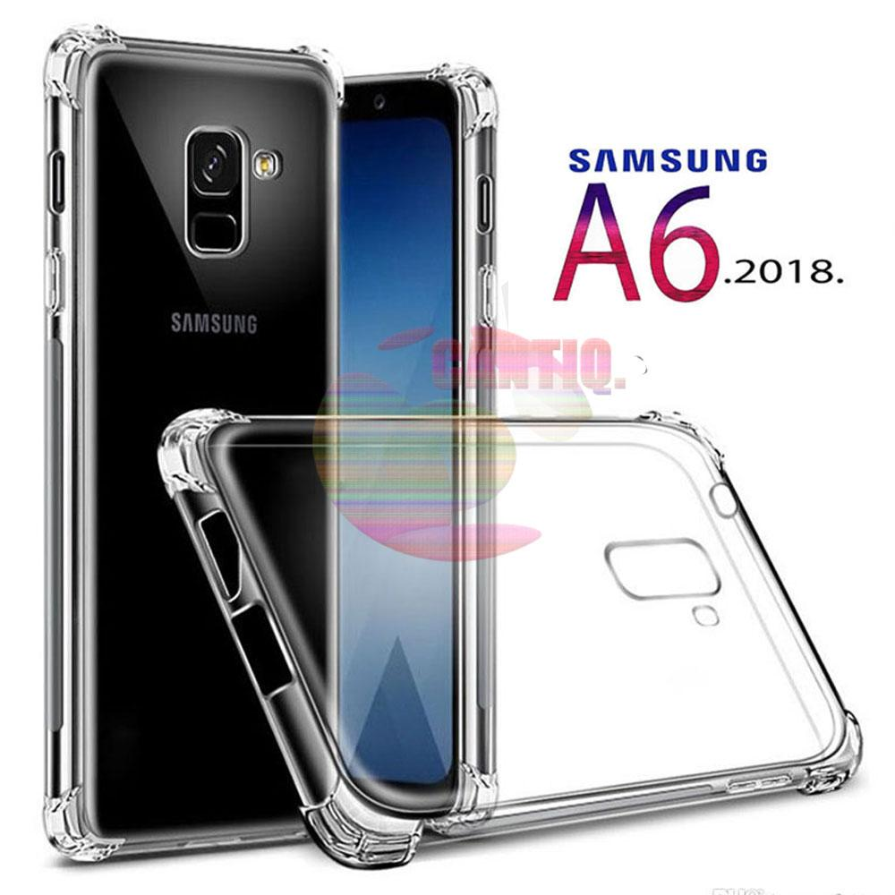 Case Anti Shock Samsung Galaxy A6 2018 Ultrathin Anti Crack Elegant Softcase Anti Jamur Air Case 0.3mm / Silicone Samsung A6 2018 / Soft Case / Silikon Anti ...