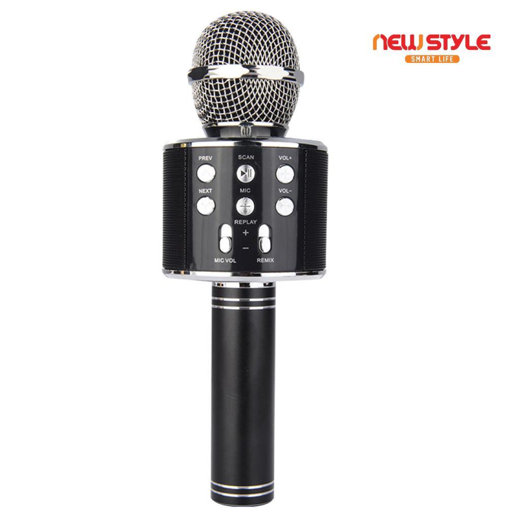 Sound System Panggung Terbaru T1 Perfect Choice Bluetooth Portable Speaker Original Dengan Jam Ala Hitam Newstyle Mic Smule Ws 858 Karaoke Karoke Hifi Mikrofon Ktv Wireless Microphone