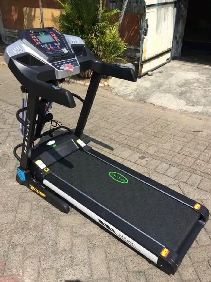 Gratis Ongkir Jabodetabek - Bandung - Treadmill Elektrik 3 Fungsi New Osaka AM ( AUTO INCLINE ) - Treadmill - Alat Fitness - Treadmill Elektrik