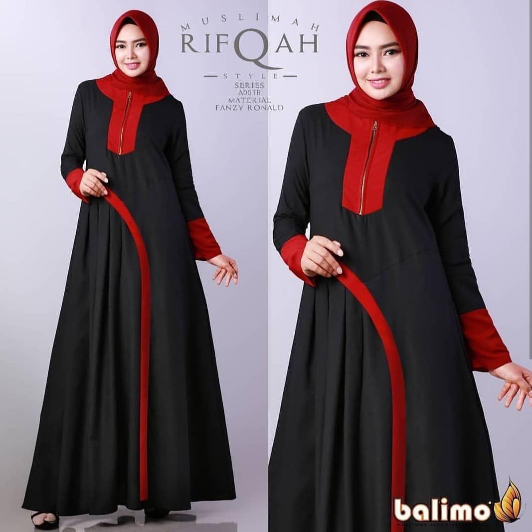dress terbaru remaja 2018 simple rifqah dress /dress terbaru remaja 2018/gamis modern /dress /gamis