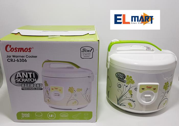 Cosmos magic com 3in1 harmond CRJ 6306/rice cooker anti lengket