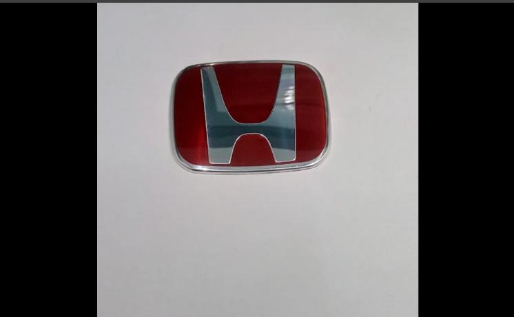 Emblem Stir Honda Merah B