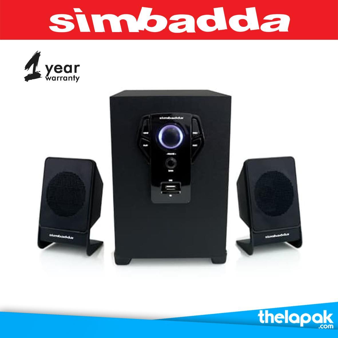 Simbadda CST-5000N Plus Speaker Bluetooth / Speaker Aktif / Speaker Laptop / Speaker TV