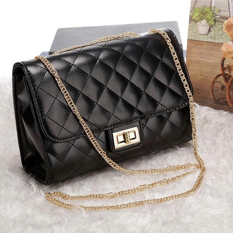 Rovelin - Tas Slempang Jims Honey Mini Chlae Black