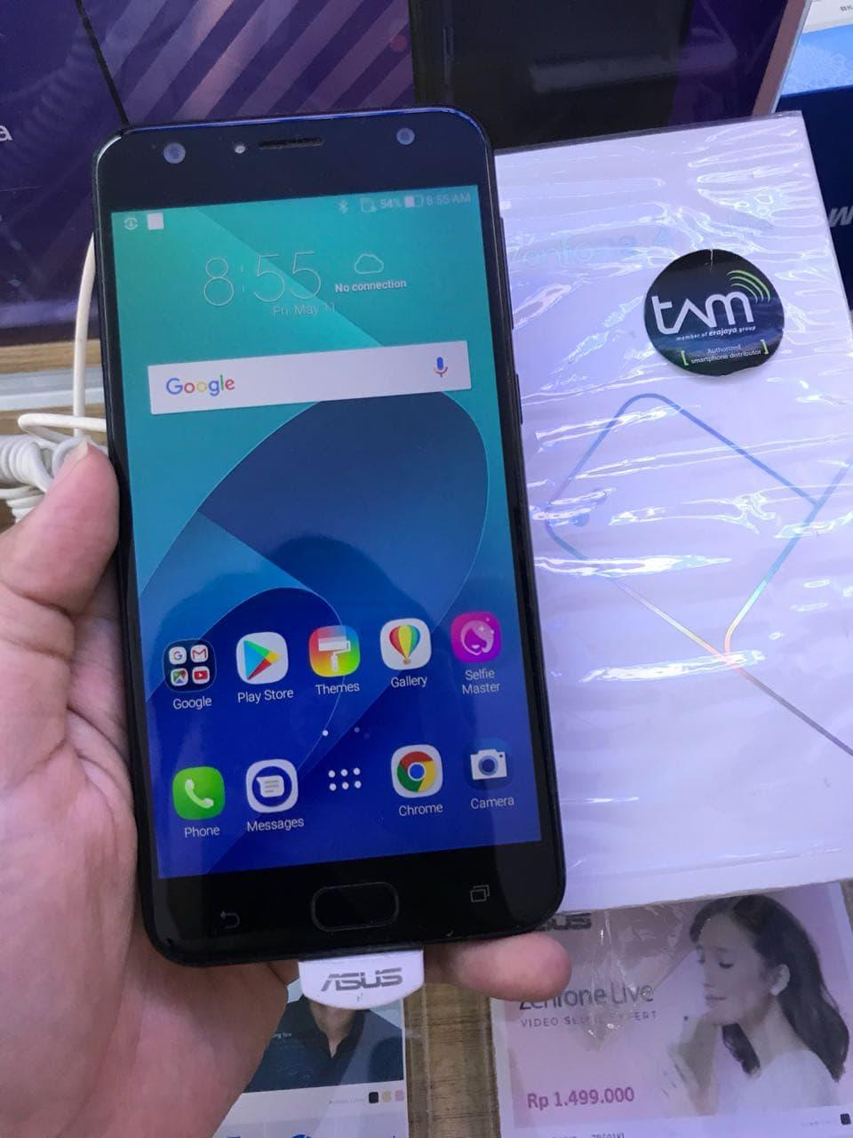 SECOND ASUS ZENFONE 4 SELFIE 4GB/64GB ZD553KL EX DEMOLIVE 7 BLN DISPLA