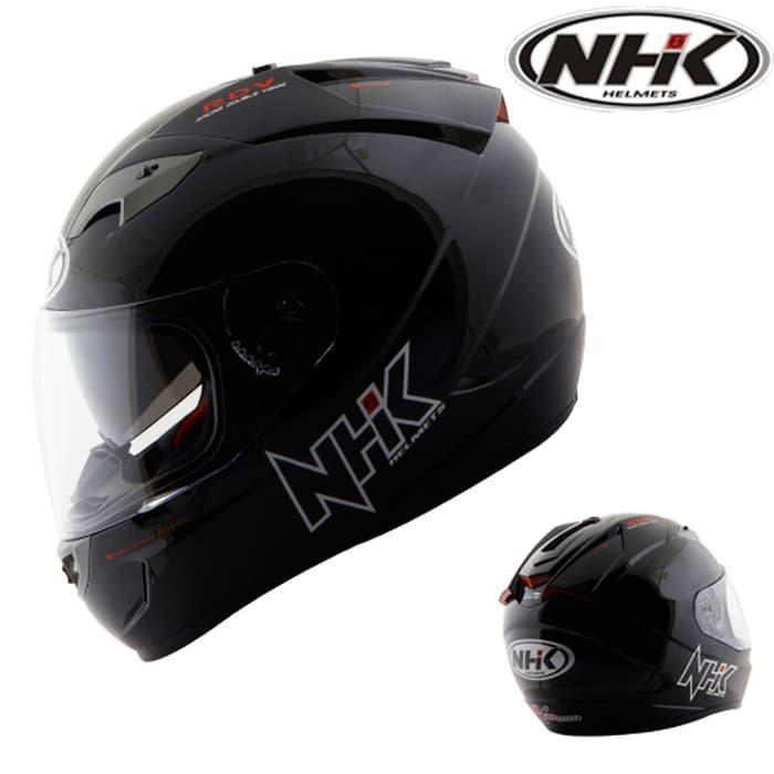 Helm NHK GP1000 2 VISOR SOLID Terlaris di Marketplace Lazada