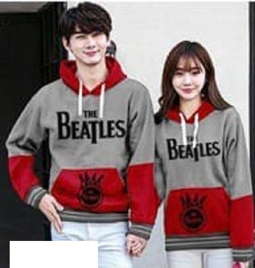 FASHION STORY - Sweater Couple Hoodie The Beatles  Sweater Pasangan   Baju  Couple   Model fb10679e41