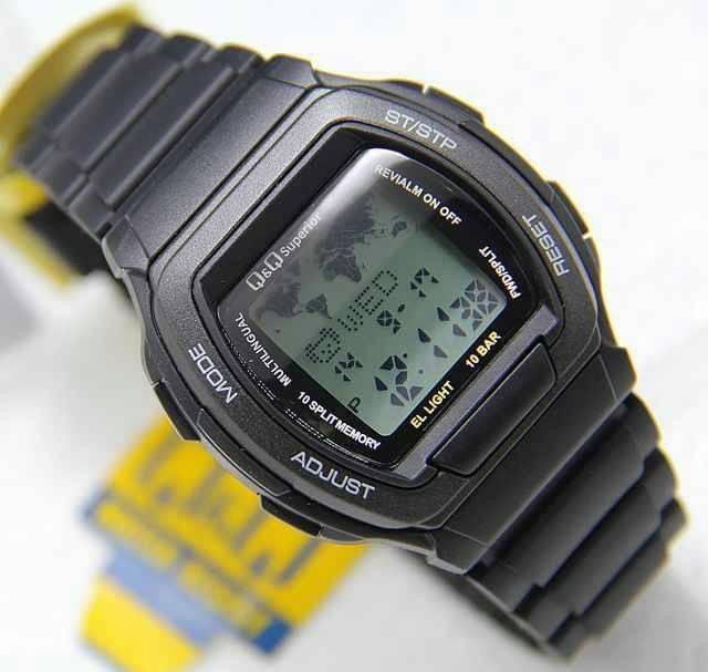 Harga Spesial!! Jam Tangan Pria Digital Qq Mmw3 Original Anti Air - ready stock