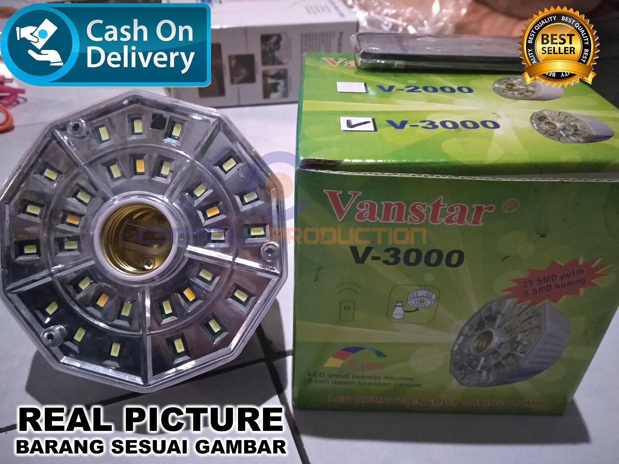 Lampu Remote Emergency V3000 VANSTAR/Lampu Darurat REAL PICTURE