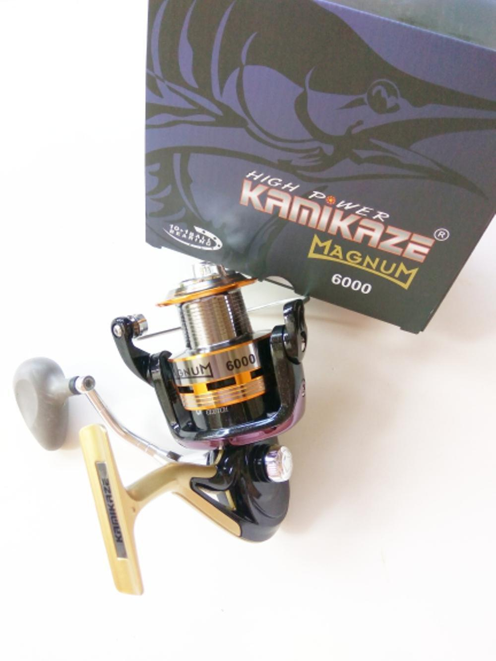 Reel Spinning Kamikaze Magnum 6000 11 BB