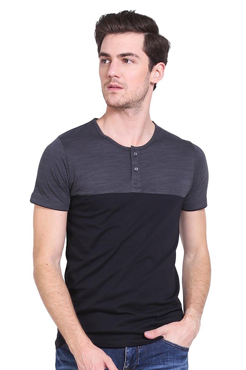 Cressida T-Shirt Kaos Pria Cut N Sewn L365 Tee Grey