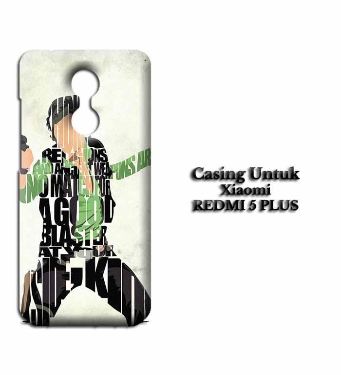 Casing XIAOMI REDMI 5 PLUS Han Solo Typography Hardcase Custom Case Se7enstores