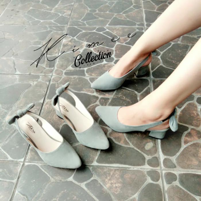 Kimee - Camella Chunky Heels By Kimee Collection.