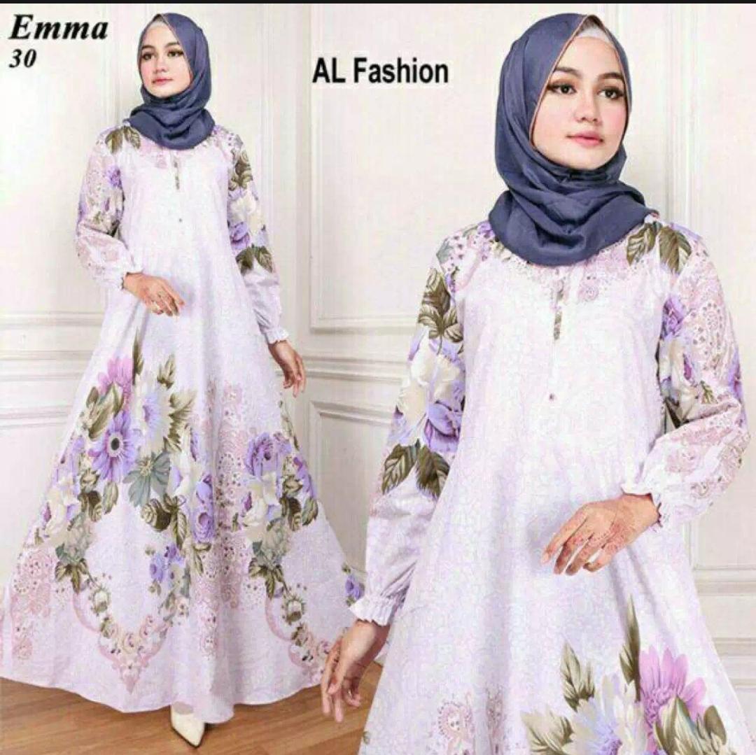Buy Sell Cheapest Maxi Emma Murah Best Quality Product Deals 23 Baju Muslim Wanita Gamia Model Kekinian Vf Gamis Terbaru Dress Syari 30 Busui Ld 110