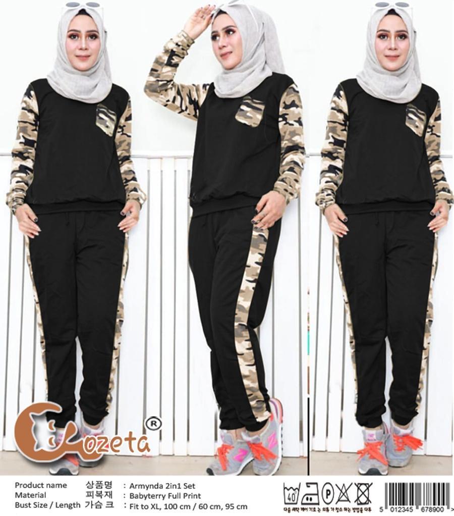 sb collection celana kulot rok batik pad wide jumbo long pant-coklat. Source ·. Source · Milea Secret's - ST Army - Setelan Wanita