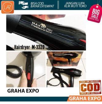 Harga preferensial Maxx HairDryer Pengering Rambut Blow Dryer Hair Alat  Kecantikan Panas dan Dingin Hair Styling e8b839ceed