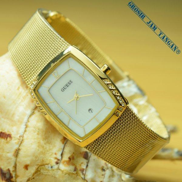 JAM TANGAN WANITA GUESS PASIR MODEL TERBARU (GOLD)  HARGA GROSIR TERMURAH! 4c70834825