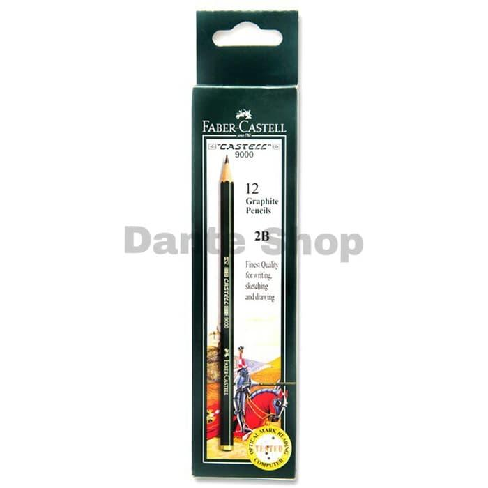 Pensil Faber Castell 2B ( Satuan )