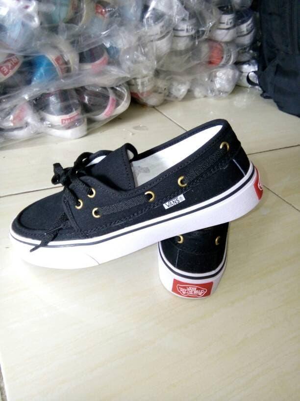 ASLI!!! Sepatu Vans Terbaru Zapato Black